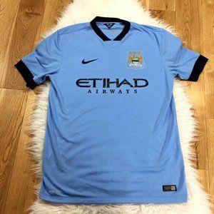 Nike Men Manchester City Soccer Football Dri-Fit L